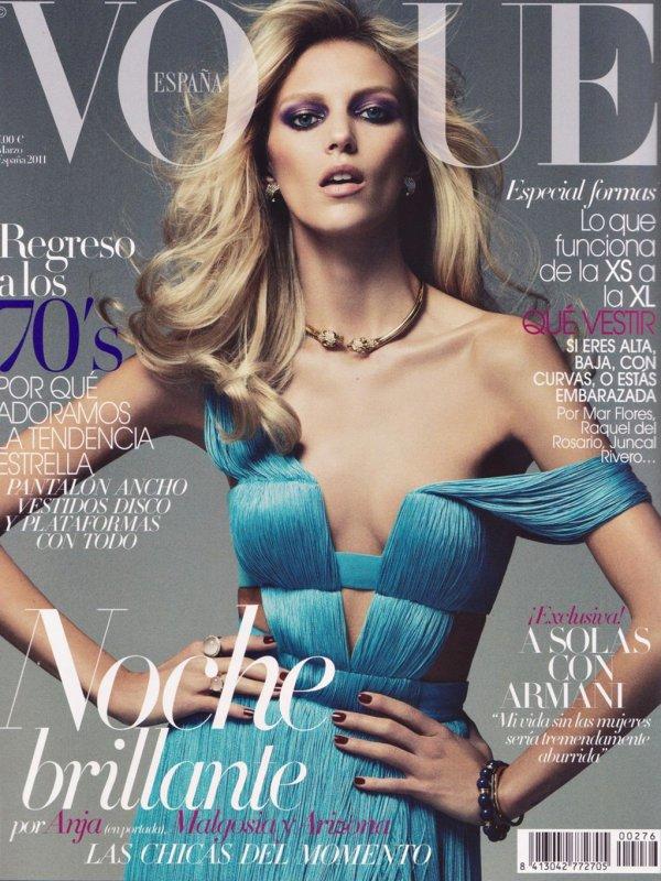 Anja Rubik | Vogue Espagne Mars 2011 by Alexi Lubomirski