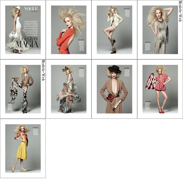 Siri Tollerød | Vogue Amérique Latine Mars 2011