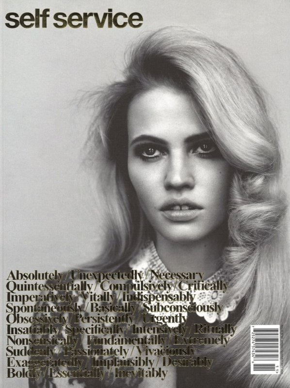 Lara Stone | Self Service S/S 2011 by Alasdair McLellan
