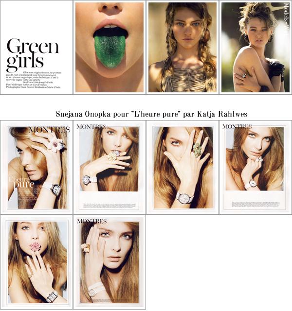 Gisèle Bündchen | Vogue Paris Avril 2011