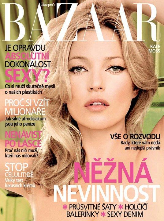 Kate Moss | Harper's Bazaar Tchèque Avril 2011