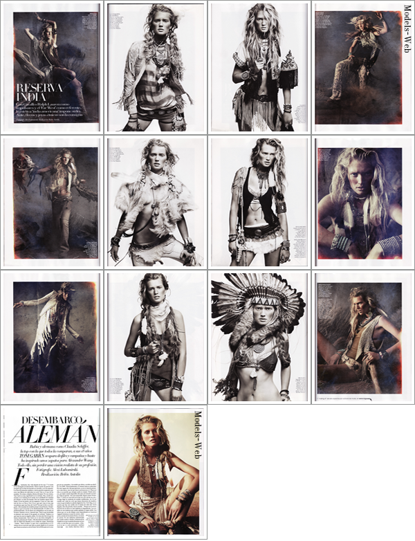Toni Garrn | Vogue Espagne Avril 2011