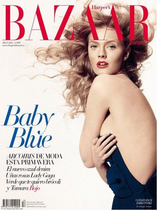 Constance Jablonski | Harper's Bazaar Espagne Avril 2011