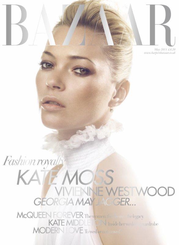 Kate Moss | Harper's Bazaar UK Mai 2011
