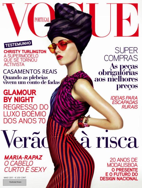 Caroline Brasch Nielsen | Vogue Portugal Mai 2011