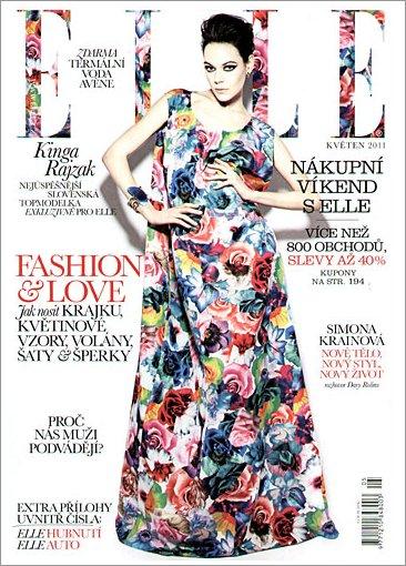 Kinga Rajzak | Elle Tchèque Mai 2011