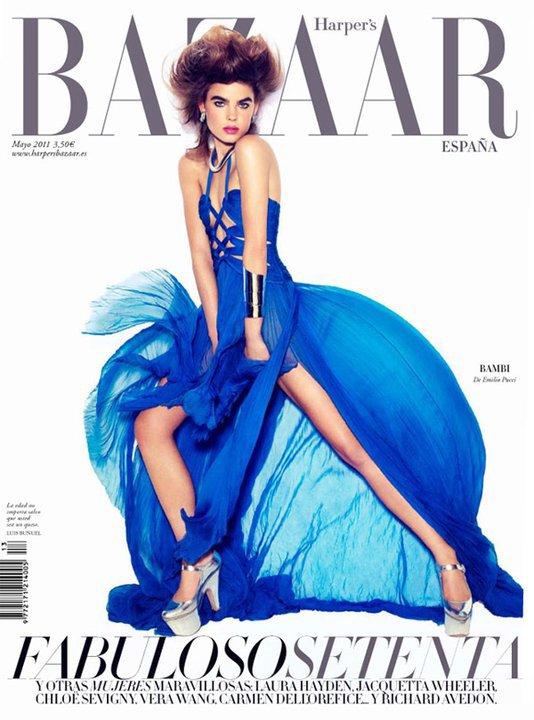 Bambi Northwood Blyth  | Harper's Bazaar Espagne Mai 2011