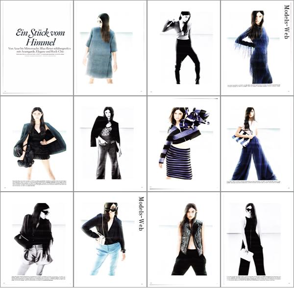 Julia Stegner | Vogue Allemagne Mai 2011