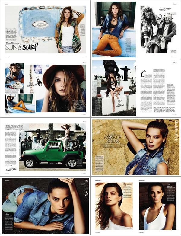 Daria Werbowy | Elle Espagne Mai 2011