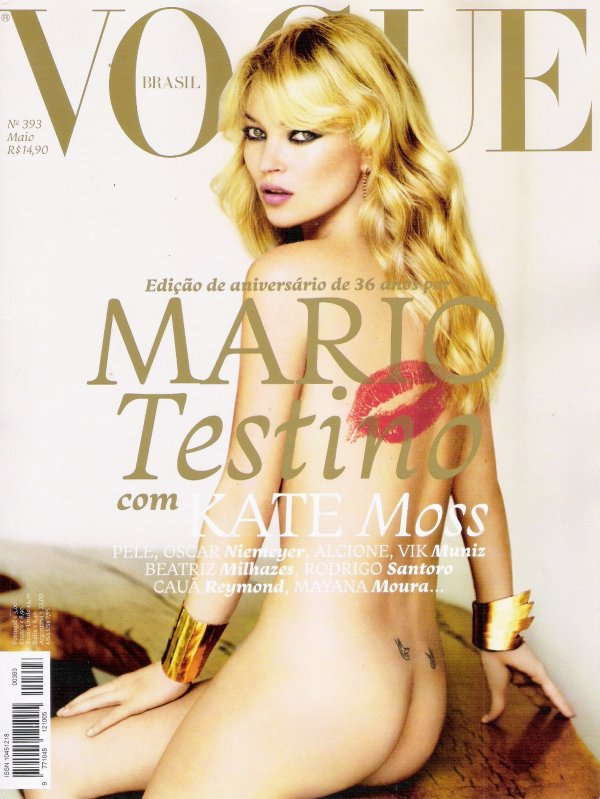 Kate Moss | Vogue Brésil Mai 2011