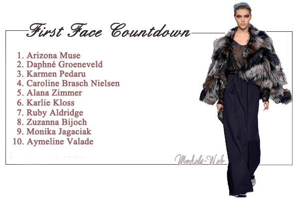 First Face Countdown F/W 2011-2012