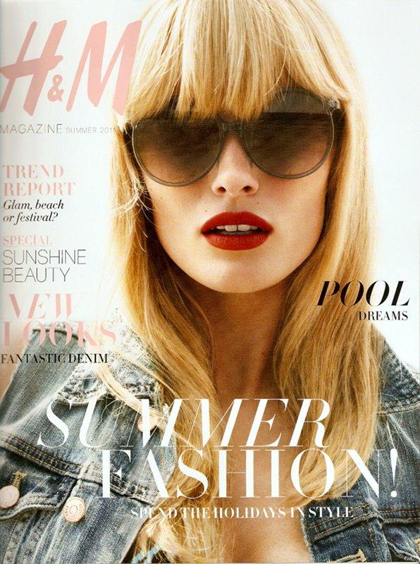 Edita Vilkeviciute | H&M Magazine Summer 2011