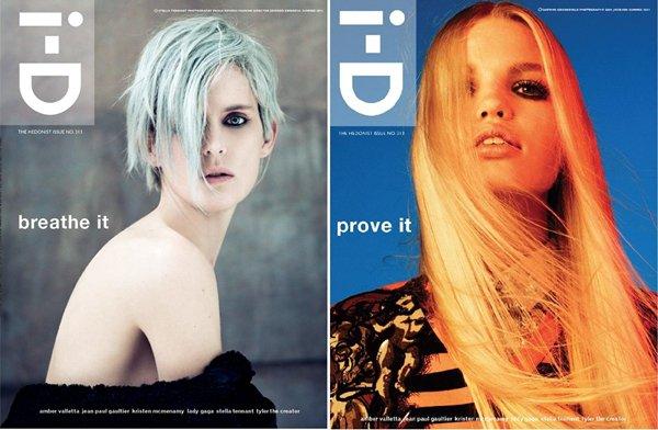 Amber Valletta, Stella Tennant, Kristen McMenamy, Daphne Groeneveld, Behati Prinsloo | i-D Magazine Summer 2011