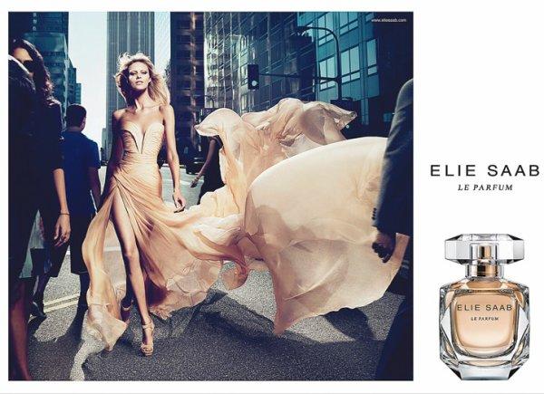 Anja Rubik | Elie Saab Le Parfum