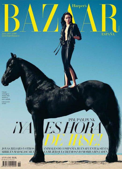 Anna de Rijk | Harper's Bazaar Espagne Juin 2011