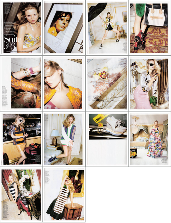 Erin Wasson | Vogue Espagne Juin 2011