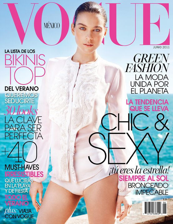Kim Noorda | Vogue Mexique Juin 2011[TFS : tarsha]