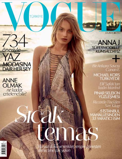 Anna Jagodzinska | Vogue Turquie Juin 2011[TFS : tarsha]