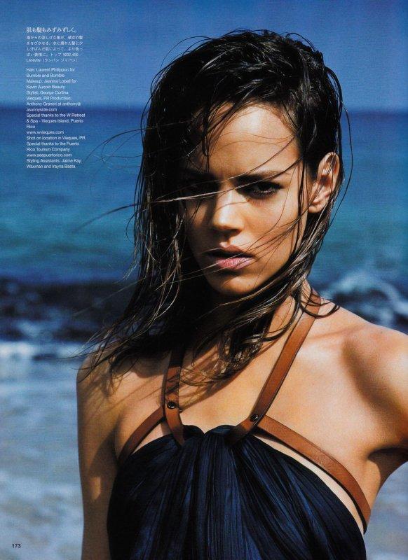 Freja Beha Erichsen | Vogue Beauty Japon Juillet 2011[TFS : a.t.]