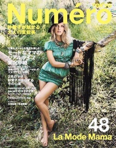 Angela Lindvall | Numéro Tokyo Juillet/Août 2011
