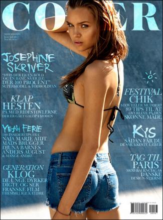 Josephine Skriver | Cover Juin/Juillet 2011[TFS : blueorchid]