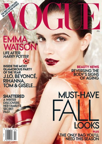Emma Watson | Vogue US Juillet 2011