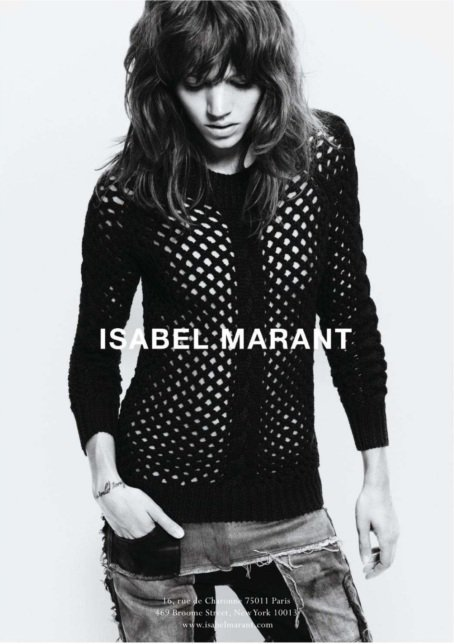 Freja Beha Erichsen | Isabel Marant F/W 11.12