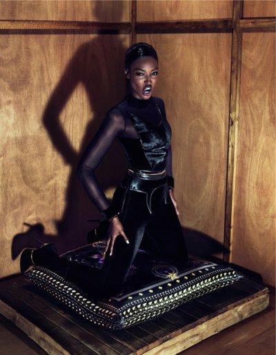 Naomi Campbell, Natalia Vodianova, Mariacarla Boscono & Kristen McMenamy | Givenchy F/W 2011-2012