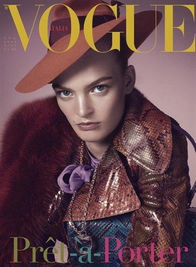 Juliane Grüner | Vogue Italie Juillet 2011