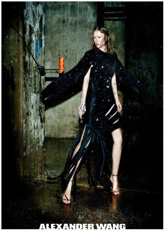 Raquel Zimmermann | Alexander Wang F/W 2011 - 2012