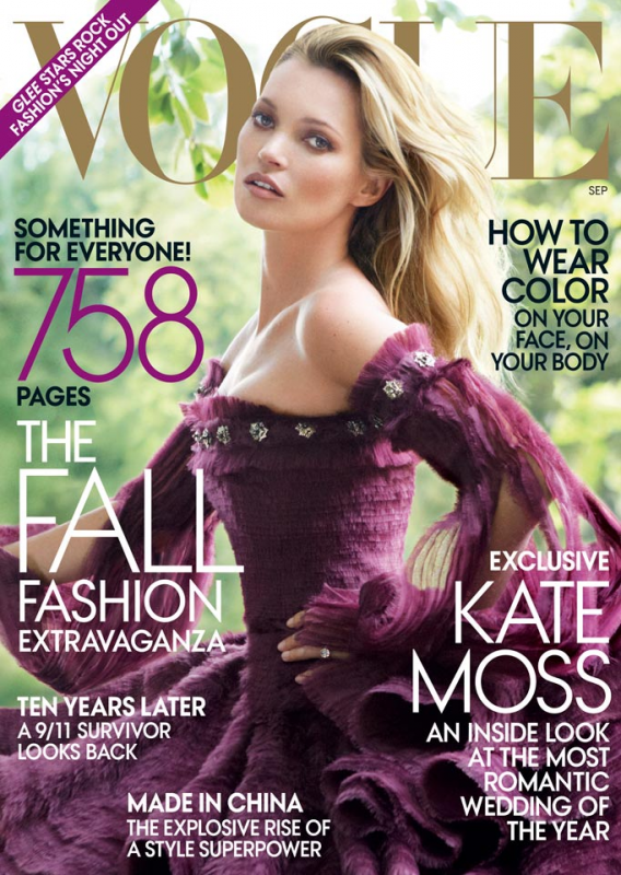 Kate Moss | Vogue US Septembre 2011