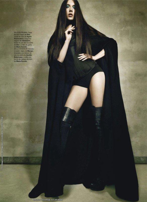 [Couverture - Editoriaux] Harper's Bazaar Espagne Septembre 2011