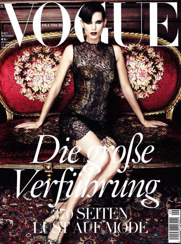 Iris Strubegger | Vogue Allemagne Septembre 2011