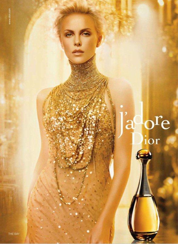 "[Cosmétiques et Parfums] Charlize Theron | Christian Dior ""J'adore"" Fragrance"
