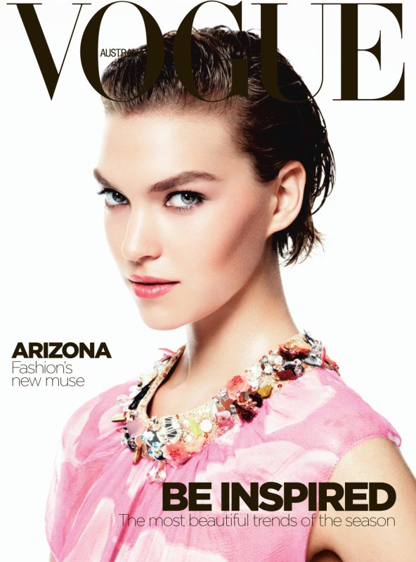 Arizona Muse | Vogue Australie Octobre 2011