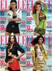 Adriana Lima, Doutzen Kroes, Miranda Kerr & Chanel Iman | US ELLE Octobre 2011