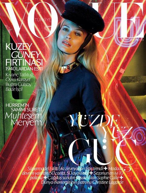 Edita V. pour Vogue Turquie