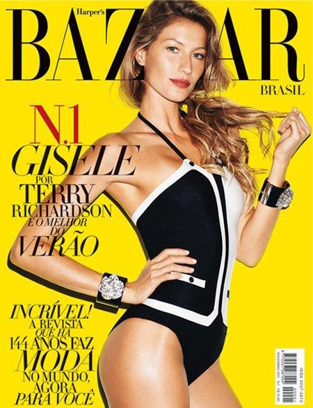 Gisèle Bündchen | Harper's Bazaar Novembre 2011