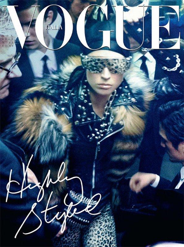 Raquel Zimmermann - Vogue Italie Novembre 2011