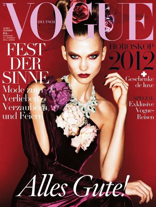 Karlie Kloss - Vogue Allemagne Décembre 2011