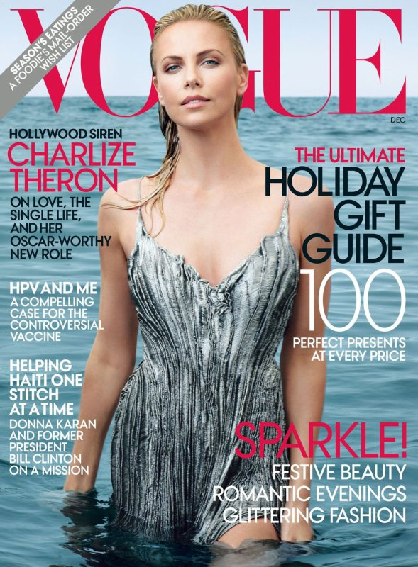 Charlize Theron - Vogue US Décembre