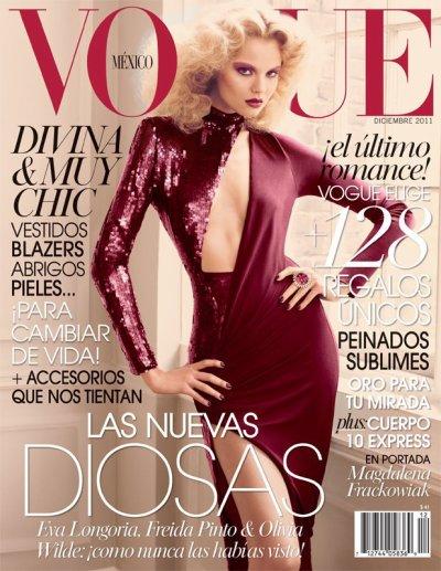 Vogue México Décembre 2011 | Magdalena Frackowiak
