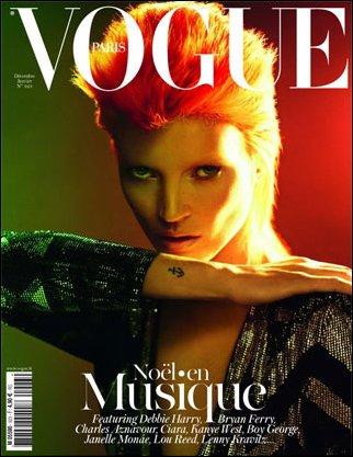 Vogue Paris Décembre/Janvier | Kate Moss