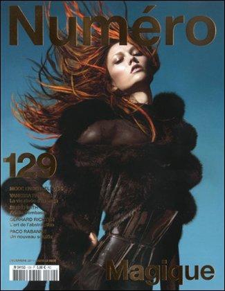 Numéro #129 Décembre 2011 / Janvier 2012 | Karlie Kloss