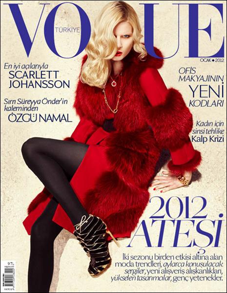 Vogue Turquie Janvier 2012 | Elsa Sylvan
