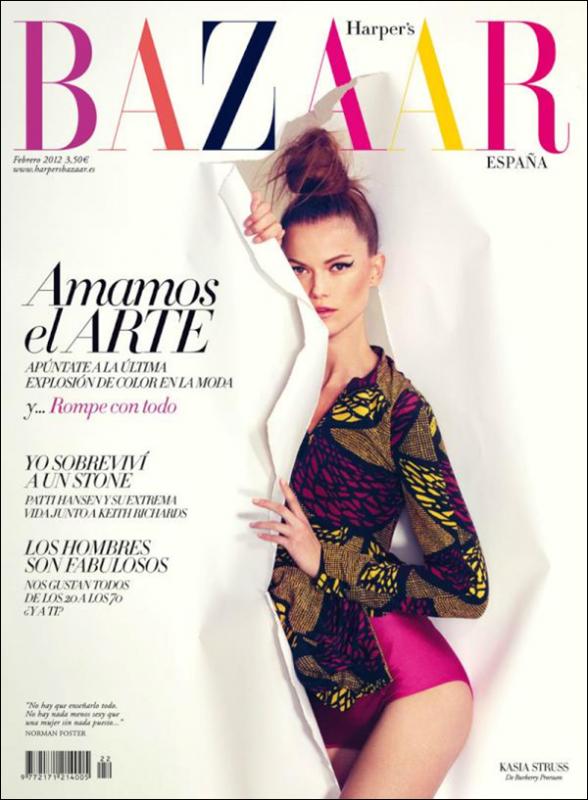 Harper's Bazaar Février 2012