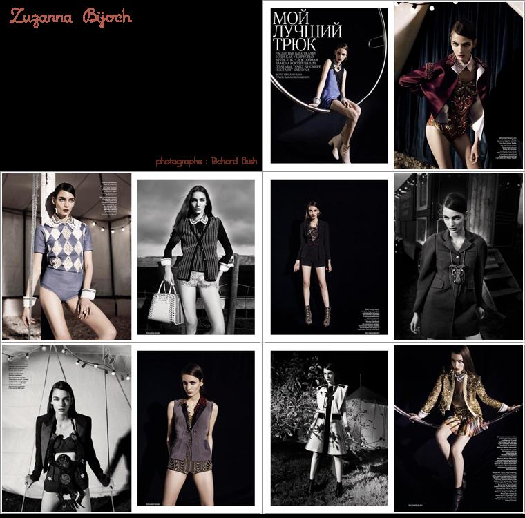 Vogue Russie Mars 2012 | Iselin Steiro