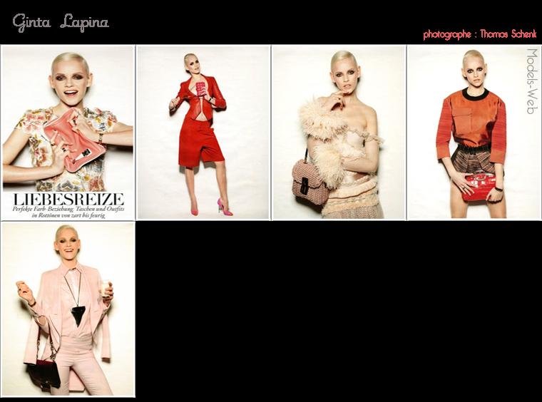 Vogue Allemagne Mars 2012 | Lais Ribeiro