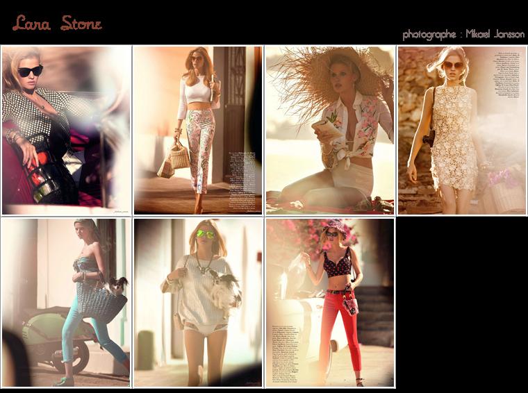 Vogue Paris Mars 2012 | Natalia Vodianova