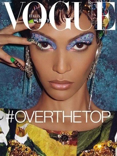 Vogue Italie Mars 2012   Joan Smalls